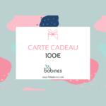 100 euros Carte Cadeau Boutique Mercerie