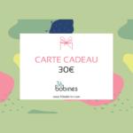30 euros Carte Cadeau Boutique Box Couture