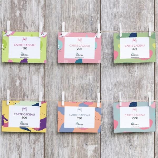 Carte Cadeau Offrir Accessoire Couture