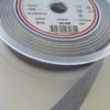 Biais polycoton gris 20mm