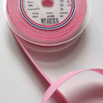 Biais Polycoton Rose 20mm