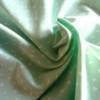 jersey coton bio triangles mint