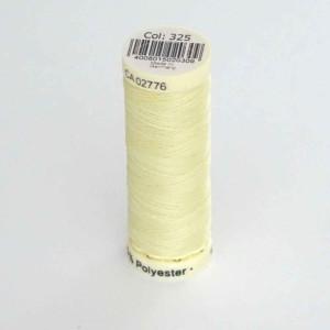 fil gutermann jaune clair 325