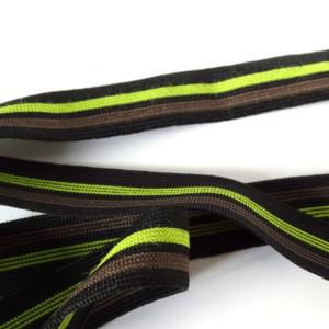 élastique marron vert noir Caleçon