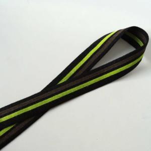 élastique marron vert noir lingerie