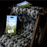 Tissu Bio Art Deco Coton Lin