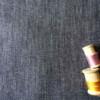 denim brut rayures Coton