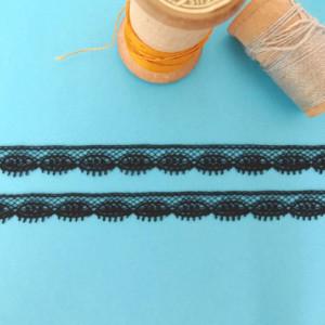 dentelle noire ruban