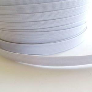elastique 11mm blanc Mercerie