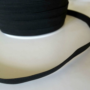 elastique 11mm noir Mercerie
