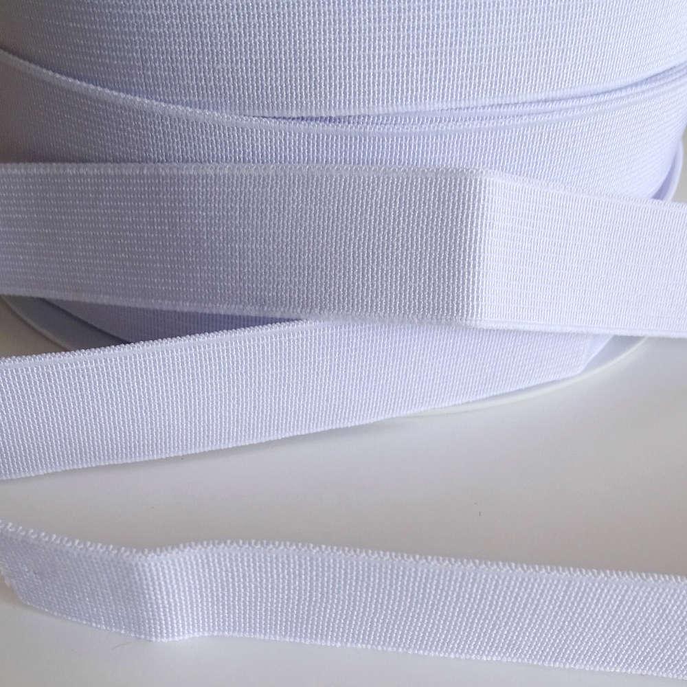 Elastique 20mm Blanc Mercerie
