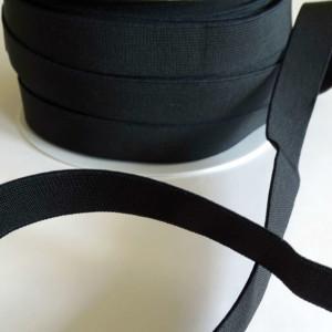 Elastique 20mm Noir Mercerie