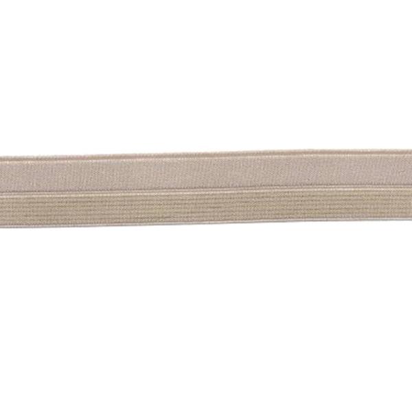 Elastique Nude Lurex Or 17mm
