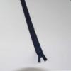 fermeture invisible bleu marine