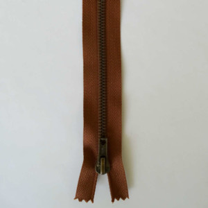 Fermeture Marron Laiton Zip