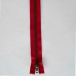 Fermeture Rouge Laiton Zip Séparable