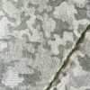 jacquard camouflage coton tissu vert Couture
