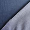 Jersey Denim Bleu Coton Bio Gots Tissu Stretch