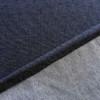 jersey denim coton brut bleu