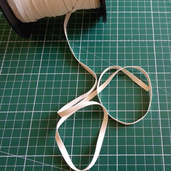 Laminette Elastique Plat Blanc Lastin Framilastic