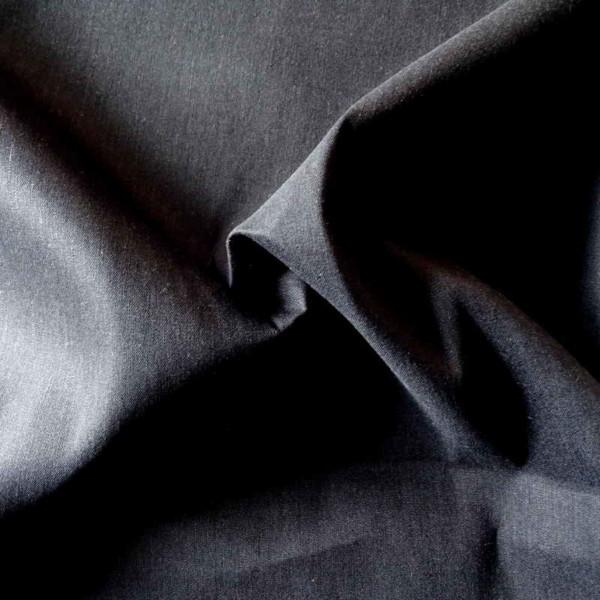 lin noir tissu Stretch