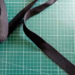 sangle noire 25mm