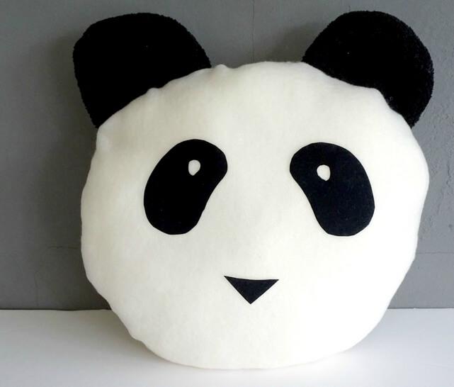Couture Pour les Enfants Nantes Coussin Panda