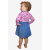 Lucille robe fille urban fairy patron couture