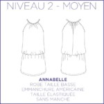 Annabelle Robe Patron Coralie Bijasson Couture