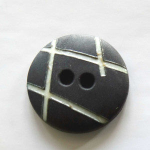 boutons-noir-rayé-blanc-36bobines-18 mm