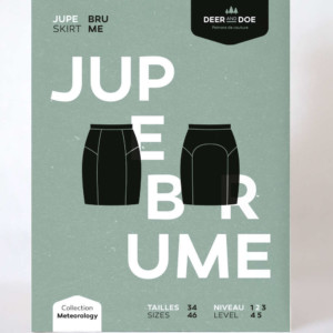 brume deer and doe Jupe Patron Pochette