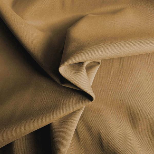 Gabardine Beige Camel Tissu