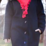 lainage manteau noir