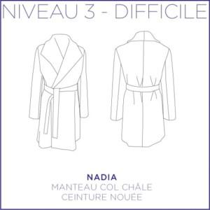 Nadia Manteau Patron