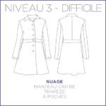 Nuage Manteau Patron Coralie Bijasson Couture Femme