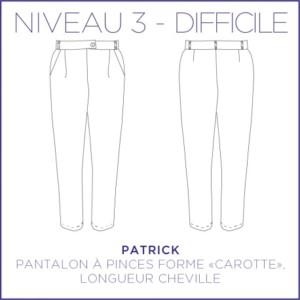 Patrick Pantalon Patron Coralie Bijasson Femme