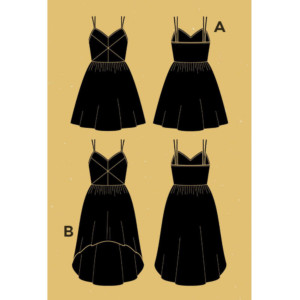 patron robe centauree couture Femme Couture Pochette