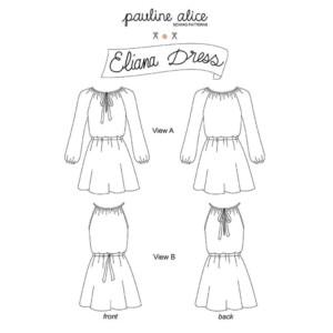 patron eliana robe pauline alice couture