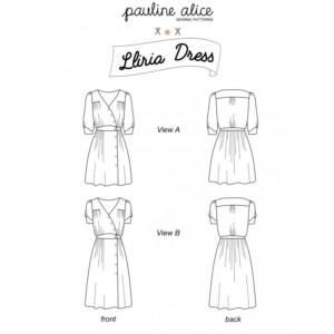 robe lliria pauline alice patron femme couture