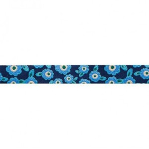 ruban blue forget me not myosotis bleus 16mm