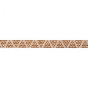 ruban mini pyramides camel 10mm tendance