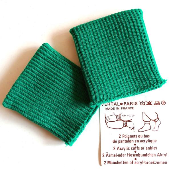 poignets vert bord cote