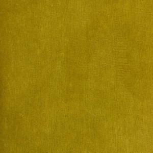 velours stretch moutarde tissu
