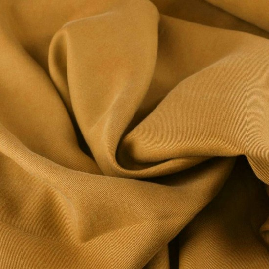 Tencel Twill Tissu Jaune Moutarde