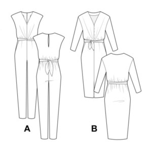 combinaison robe mila