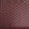 viscose art déco tissu bleu