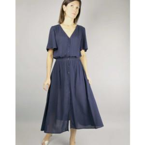 Harmonie Robe Couture Femme Atelier Scammit