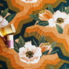 Viscose Spring Reverie Vintage Tissu