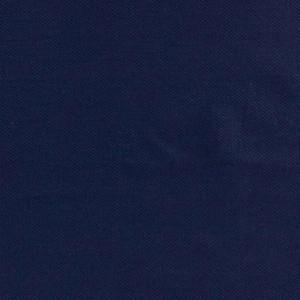 Maille Piquée Polo Coton Bio Bleu Marine alb Stoffe