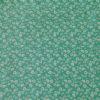 Popeline Petunia Vert Coton Tissu